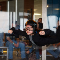 The ultimate birthday party idea - indoor skydiving!