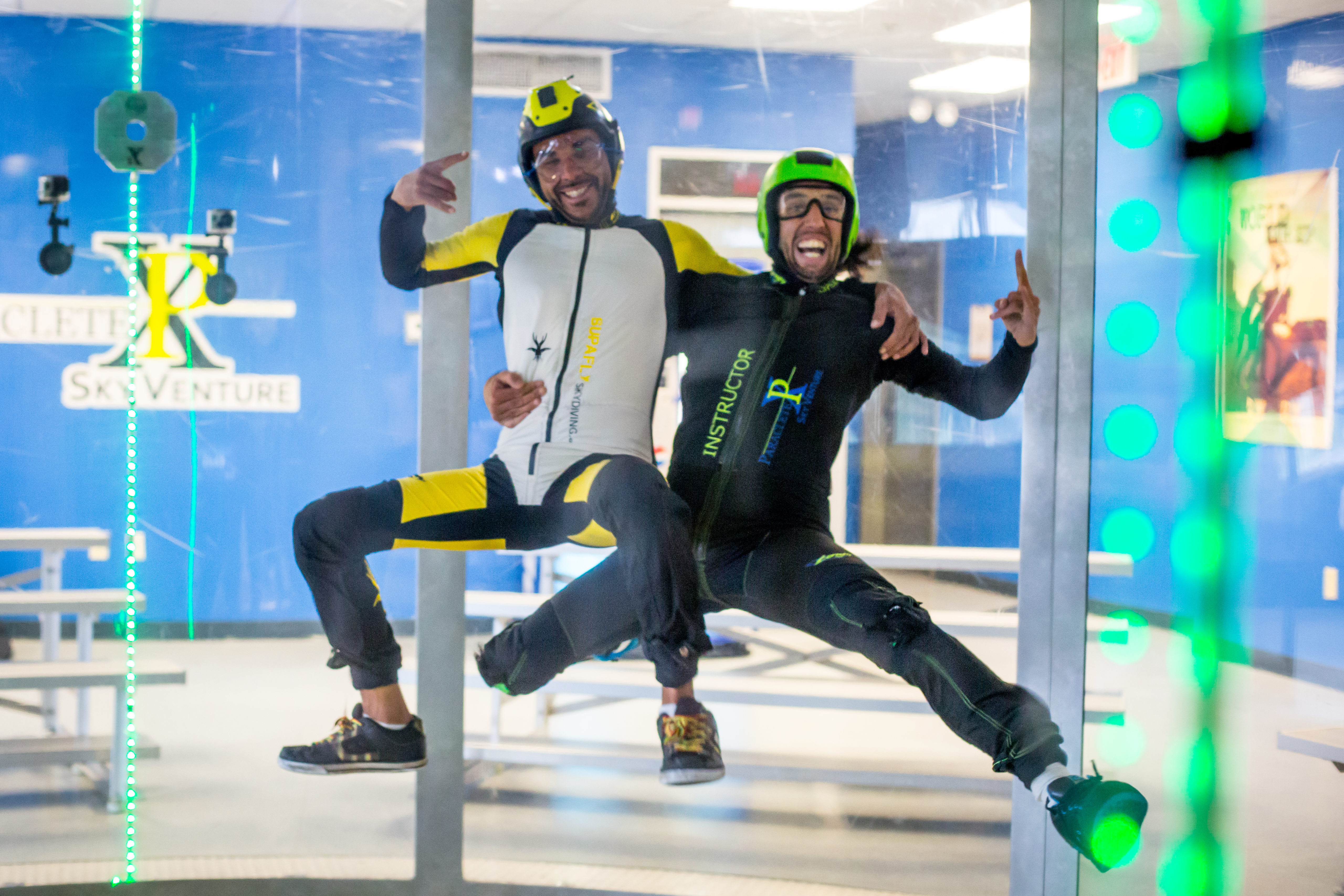 Indoor Skydiving for the Entire Family