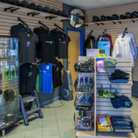 The pro shop where guests can purchase their souvenirs.