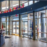 The main entrance lobby.