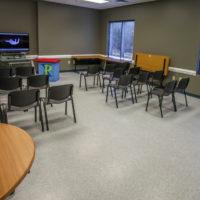 A second classroom.