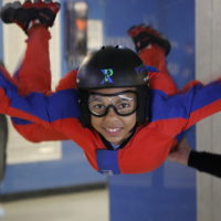 Indoor skydiving is the ultimate in birthday party ideas.