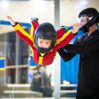 Kids enjoying indoor skydiving Fayetteville, NC