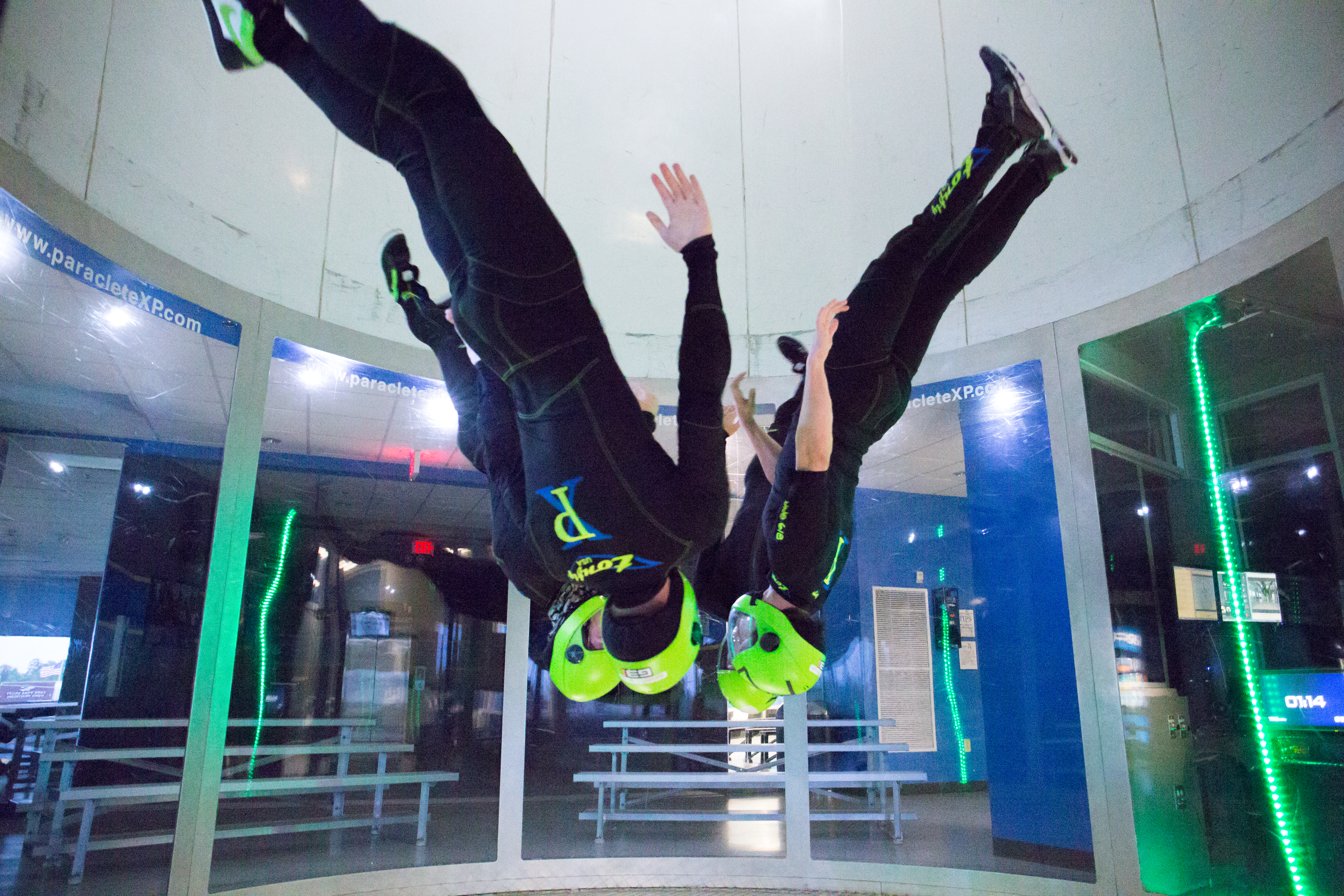 Indoor Skydiving Fayetteville NC   Come Fly With Us