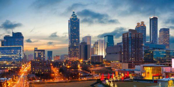 Atlanta GA skyline