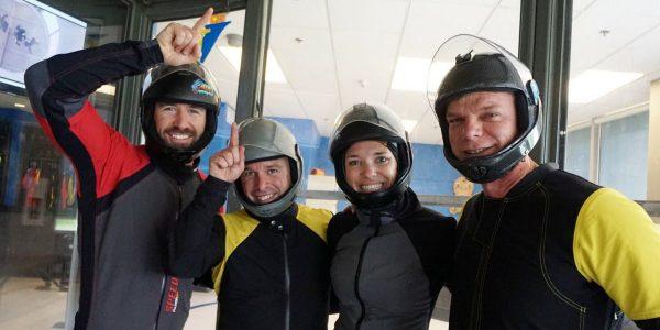 skydiving team trains at Paraclete XP
