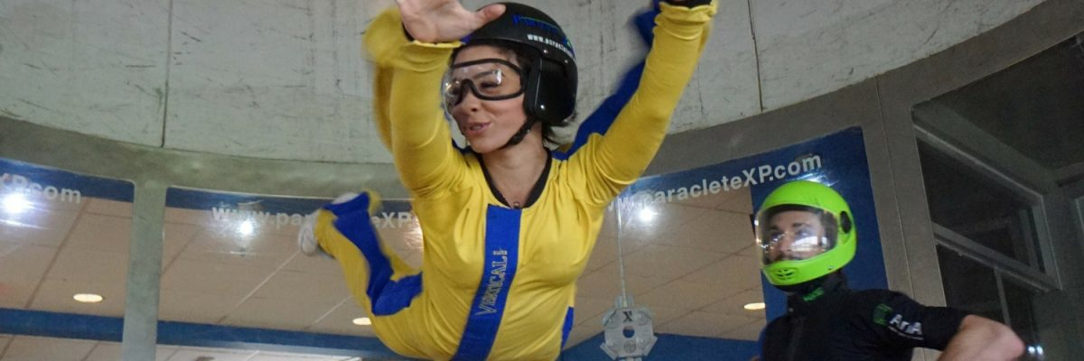 first time indoor skydiving at Paraclete XP