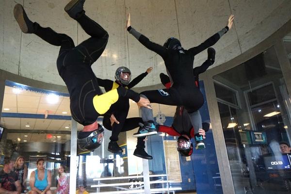 team indoor skydiving at Paraclete XP