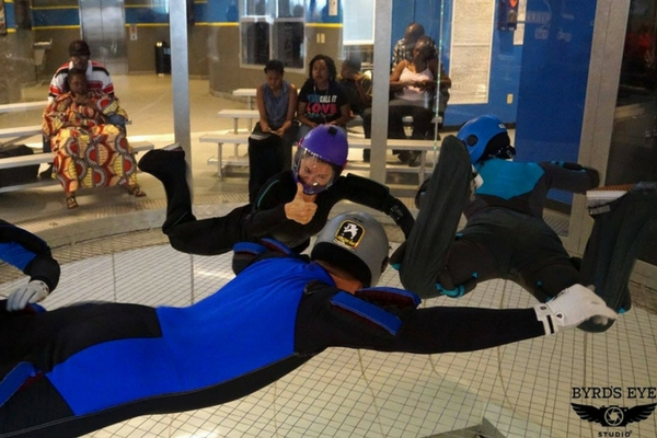 indoor skydiving league at Paraclete XP