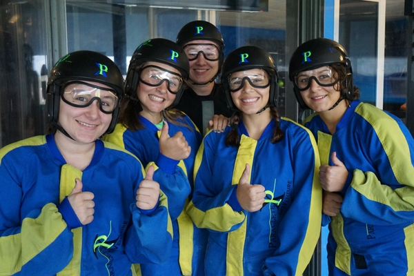 indoor skydiving league
