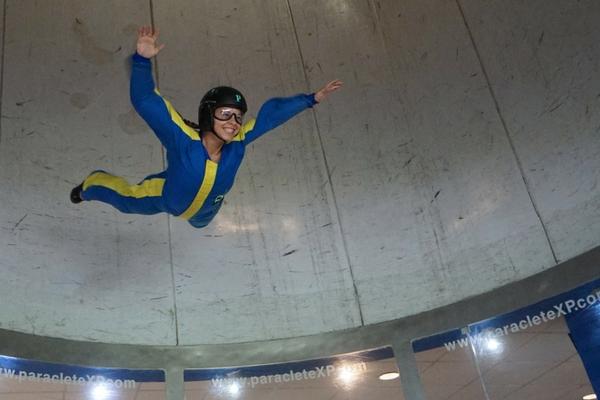 repeat indoor skydiver