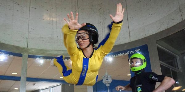 how long does indoor skydiving last