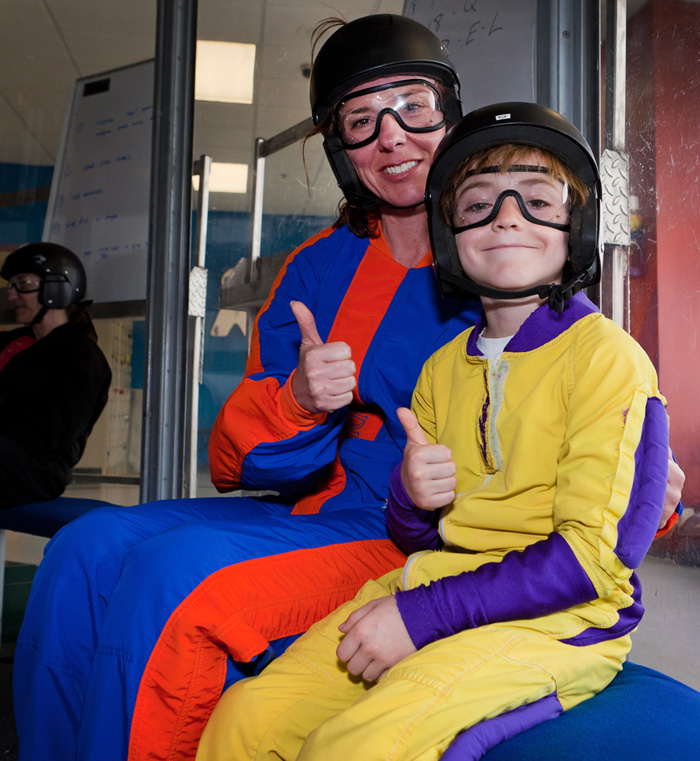 indoor skydiving clothing kids