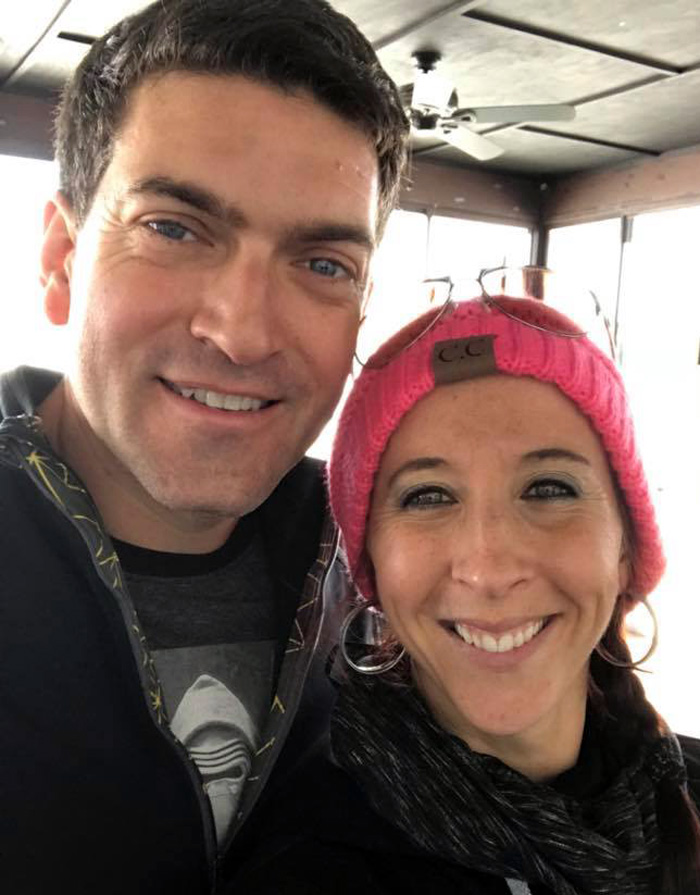 AFF instructor Steve Rulli and wife Kim