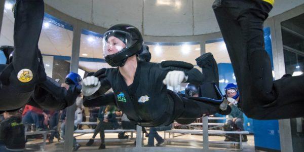 indoor skydiving suit