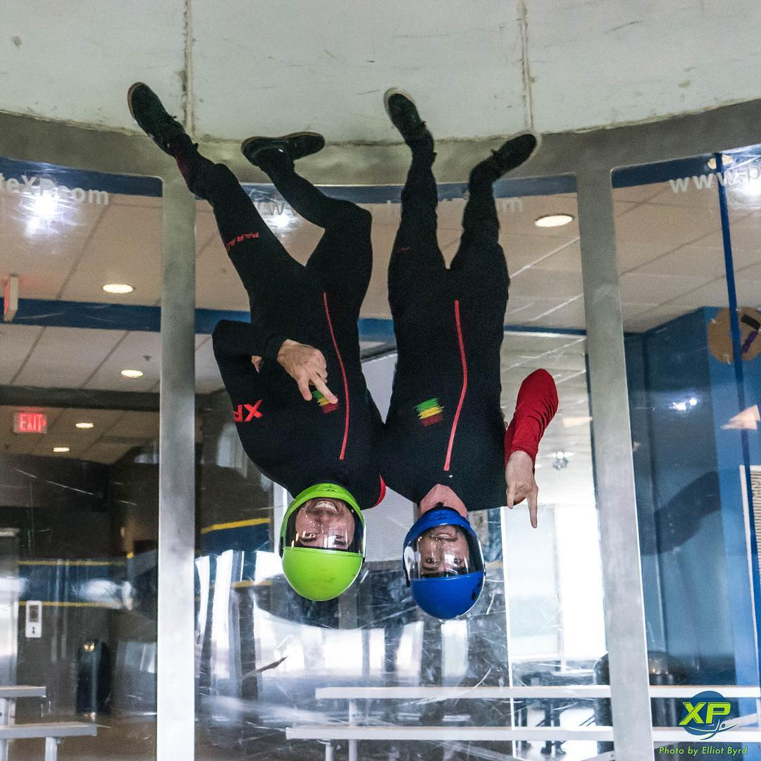 vertical formation indoor skydiving