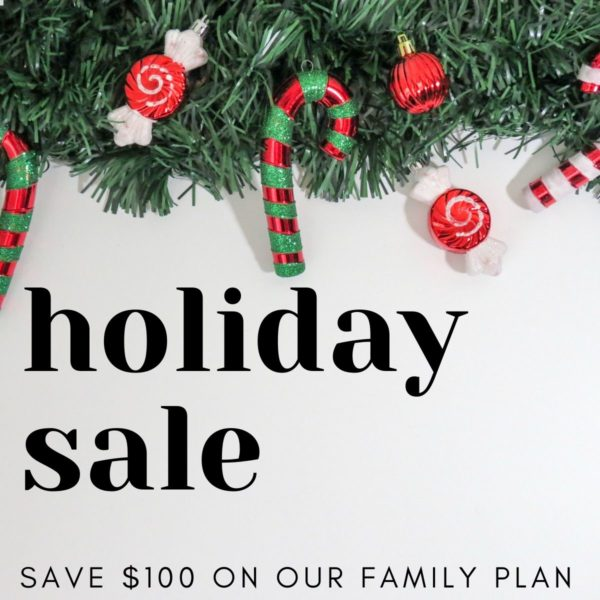 Holiday Sale Save $100