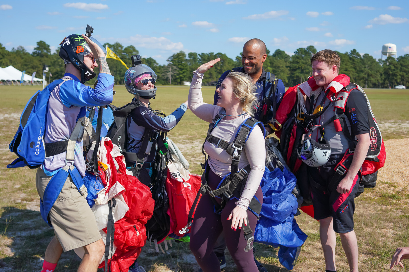 skydive with friends