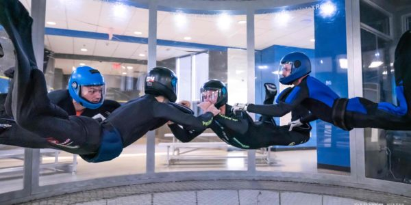 type of indoor skydiving competitions