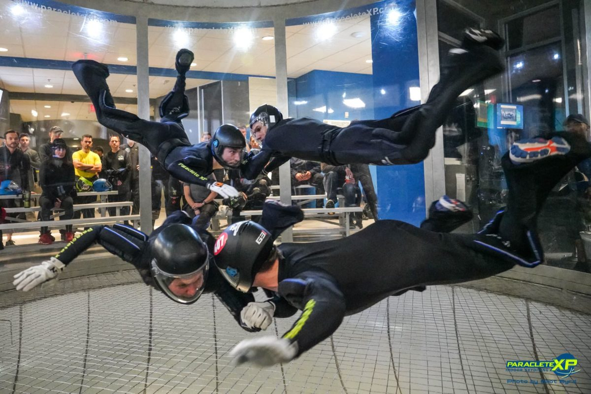 types of indoor skydiving competitions